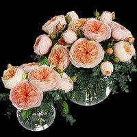 3D rose juliet