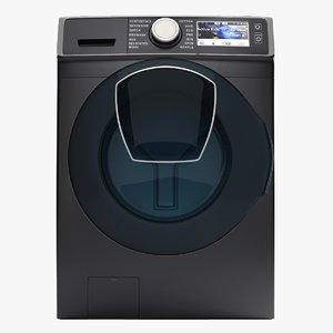 3D samsung washing machine wf7500 model
