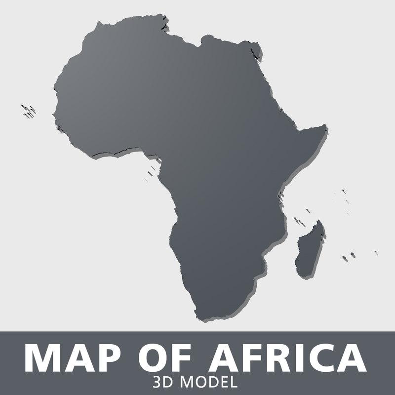 3D africa algeria angola