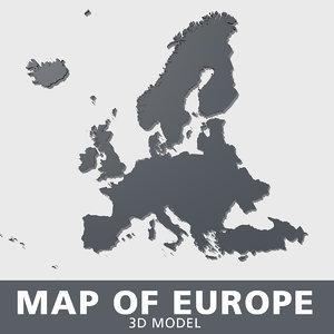 3D europe albania andorra model