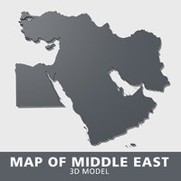 3D model middle east