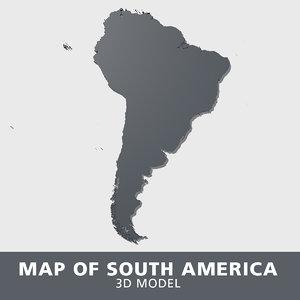 south america model