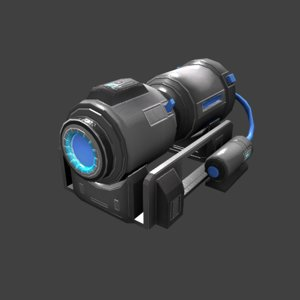 3D sci-fi generator