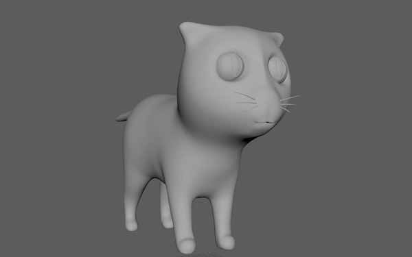 kitten cat 3D model