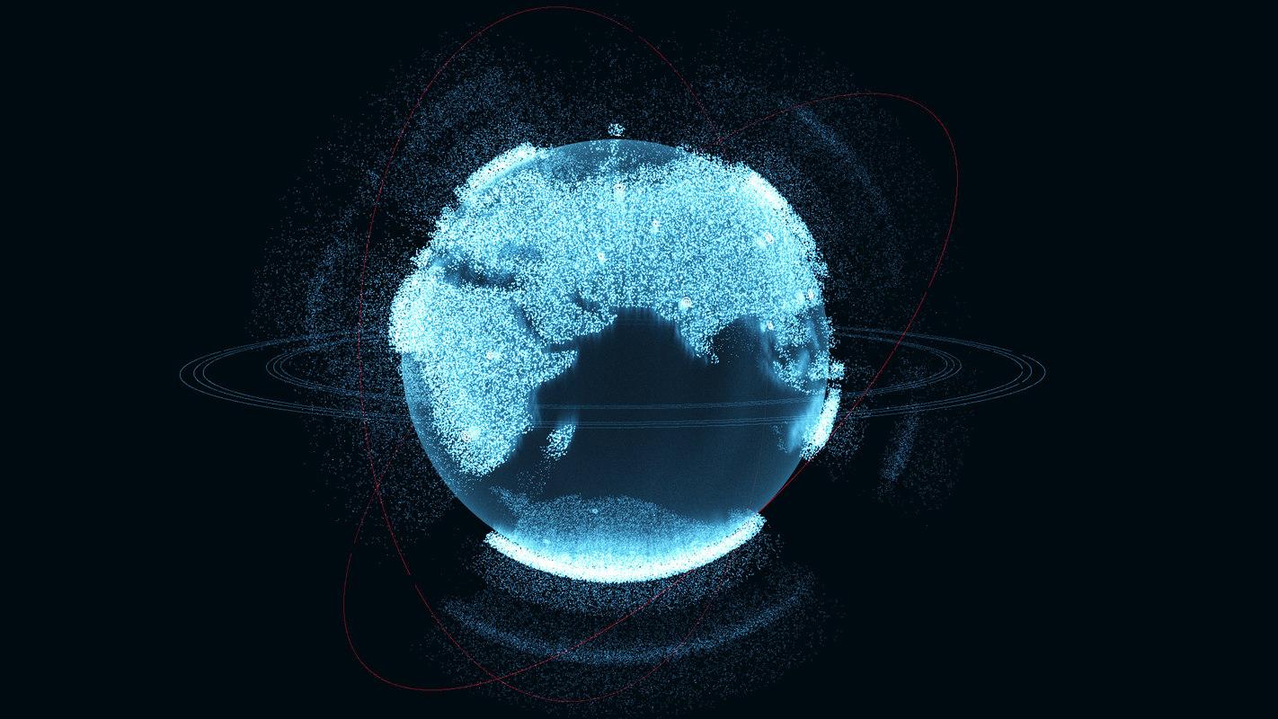 hologram planet earth v3 3D