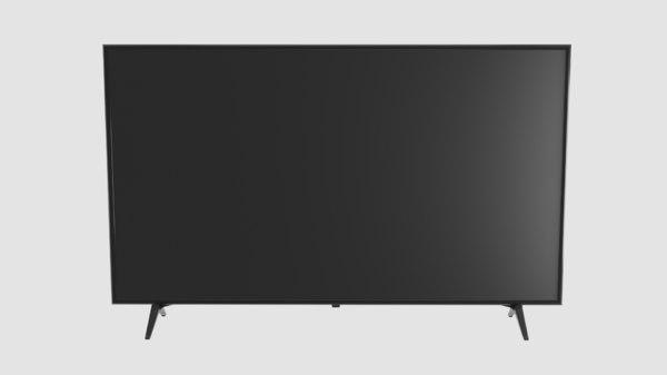 3D tv led model