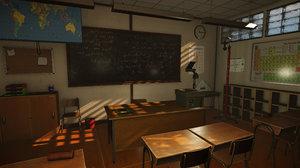 classroom teacher 3D