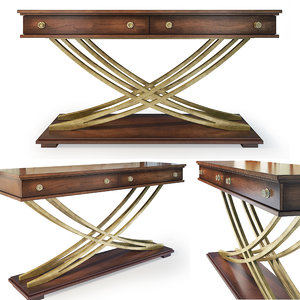 3D console table palisade hooker model