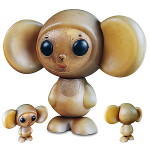 toy cheburashka ussr model