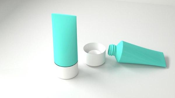 3D tube bottle