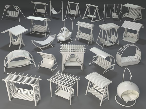 3D swings - 23 pieces