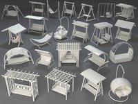 3D swings - 23 pieces