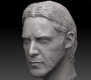 3D john wick