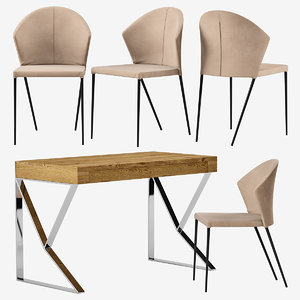 table roble angel cerda 3D model