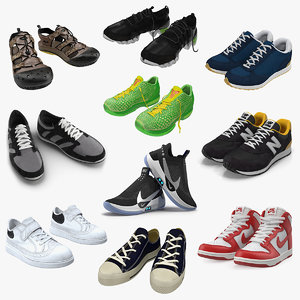 3D sneakers 6 model