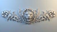 Lion Bas-Relief