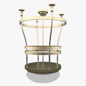 3D luxury ceiling lamp lighting