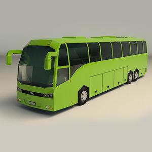coach bus 3D