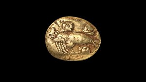 phocaean electrum coin 3D model