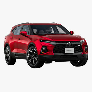3D 2019 chevrolet blazer rs