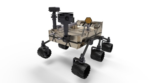 planet rover model
