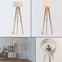 3D tripod floor lamp light