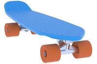 3D penny skateboard
