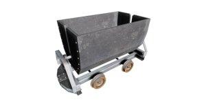 3D mining cart