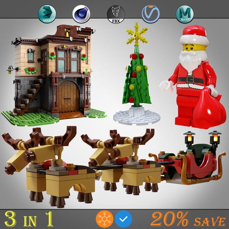 lego 3 1 model