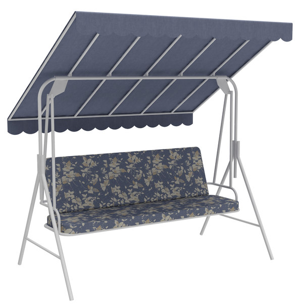 outdoor seats swing bench model