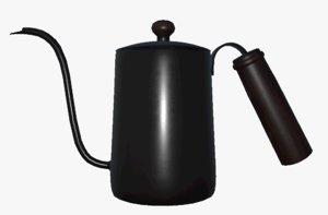 coffee pot pbr 3D model