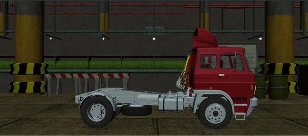 liaz 110 truck 3D model
