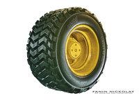 rubber wheel model