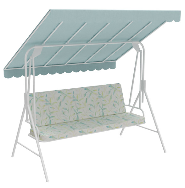 garden bench swing model