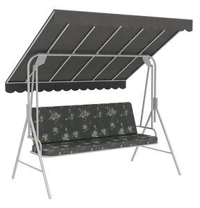 3D outdoor seats swing bench