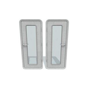 3D model door ship g 2