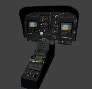 3D h120 glass cockpit
