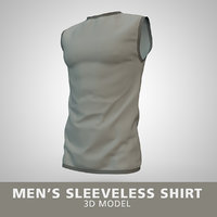 Mens Sleeveless Shirt
