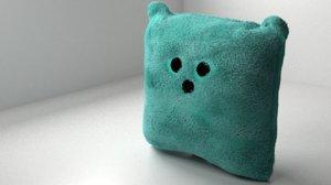 pillow teddy bear 3D model