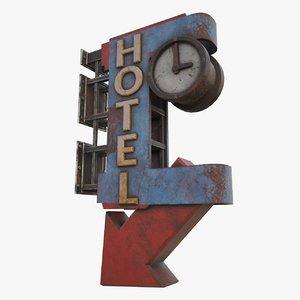 old sign model