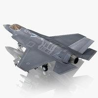 3D model turkish air force f-35a