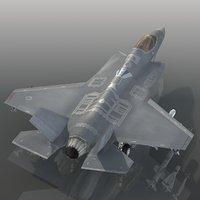 turkish air force f-35a 3D