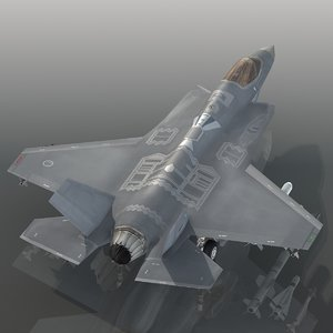 turkish air force f-35a 3D