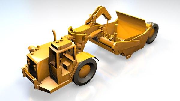 tractor scraper generic model