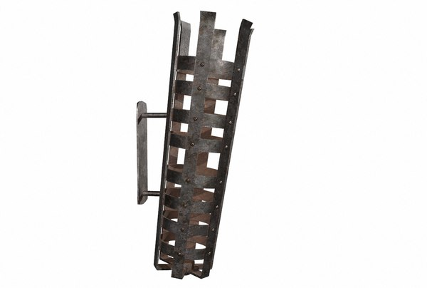 3D model iron brazier pbr