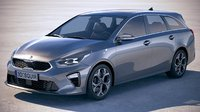 Kia Ceed Sportswagon 2019 with interior