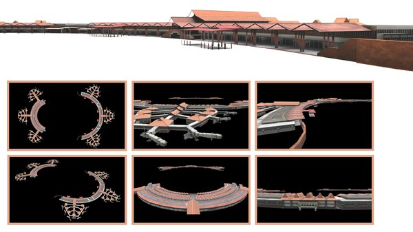 3D international airport hatta