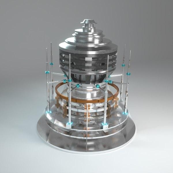 space probe 3D