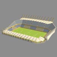 footbal stadium 3D