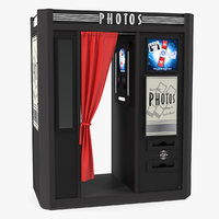 photo booth cabin digital 3D
